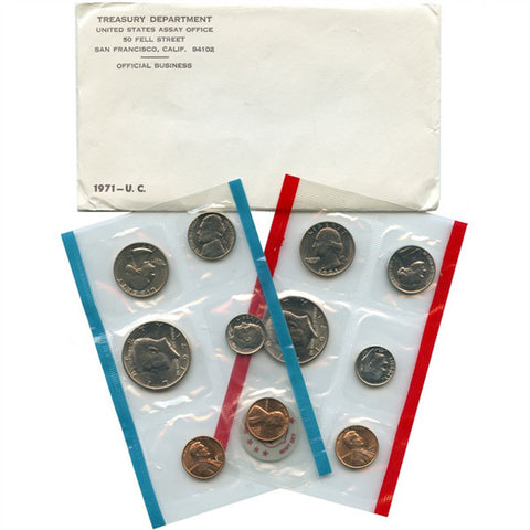 1971 Uncirculated Coin Set - Centerville C&J Connection, Inc.