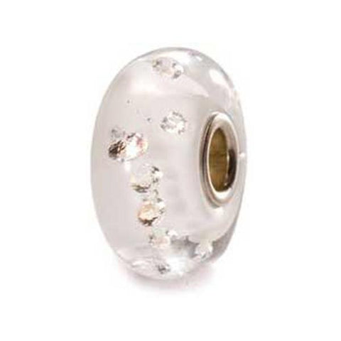 The Diamond - Trollbeads White Glass & Zirconia Bead - Centerville C&J Connection, Inc.