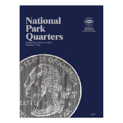 National Park Quarter Folder P&D No. 2 2016-2021 Whitman Coin Folder - Centerville C&J Connection, Inc.