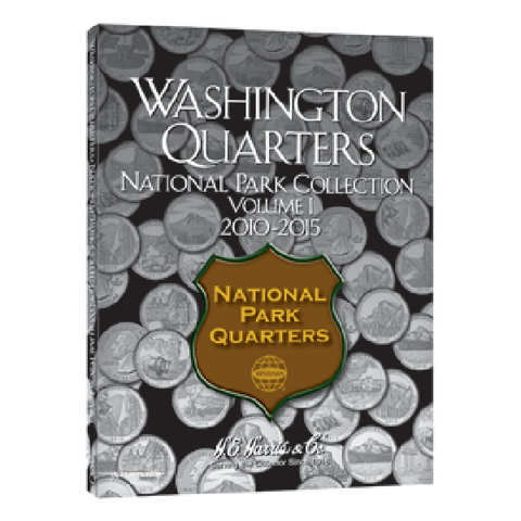 National Park Quarter Folder 2010-2015 Vol I H.E. Harris Coin Folder - Centerville C&J Connection, Inc.