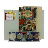 1985 Year Coin Set & Greeting Card : 32nd Birthday or 32nd Anniversary Gift - Centerville C&J Connection, Inc.