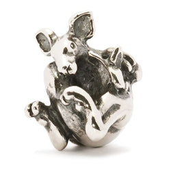 World Tour Kangaroo With Joey - Trollbeads Silver Bead - Centerville C&J Connection, Inc.