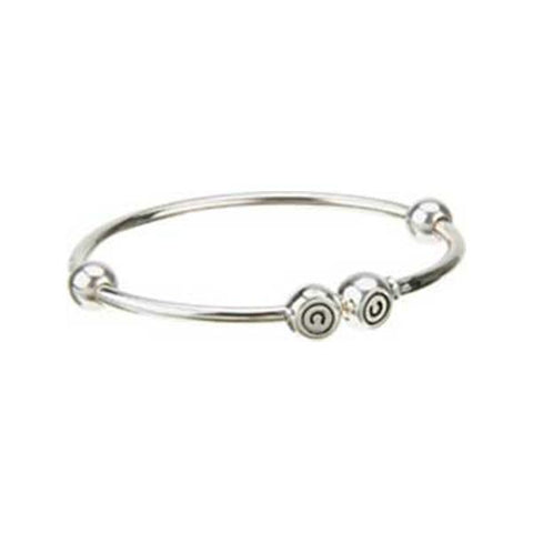 X-Large Solid Bead Bangle - Chamilia - Centerville C&J Connection, Inc.