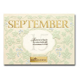 September BIRTHVERSE Bible Birthday Greeting Card - Centerville C&J Connection, Inc.