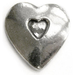 Basic Spirit Heart shape / Open your heart Pocket Token - Centerville C&J Connection, Inc.