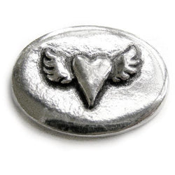 Basic Spirit Heartwing / Follow your heart Pocket Token - Centerville C&J Connection, Inc.