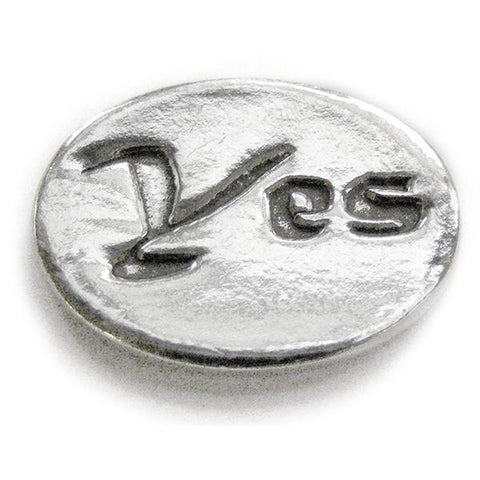 Basic Spirit Yes / No Pocket Token - Centerville C&J Connection, Inc.