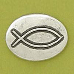 Basic Spirit Fish / Christian Symbol Pocket Token - Centerville C&J Connection, Inc.