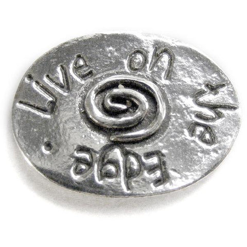 Basic Spirit Spiral / Live on the Edge Pocket Token - Centerville C&J Connection, Inc.