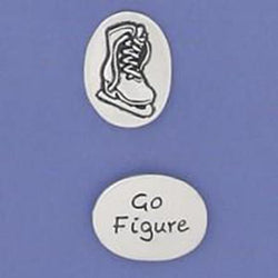 Basic Spirit Go Figure/ Ice Skate Pocket Token - Centerville C&J Connection, Inc.