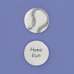 Basic Spirit Home Run/ Baseball Pocket Token - Centerville C&J Connection, Inc.