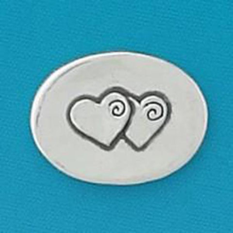 Two Hearts/Forever - Pocket Token - Centerville C&J Connection, Inc.