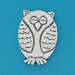 Basic Spirit Give A Hoot/ Owl Shape Pocket Token - Centerville C&J Connection, Inc.