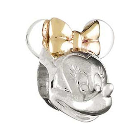 Silver Minnie Head w/Gold Bead - Centerville C&J Connection, Inc.