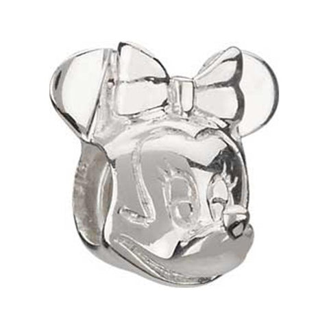 Disney Silver Minnie Mouse Bead - Centerville C&J Connection, Inc.