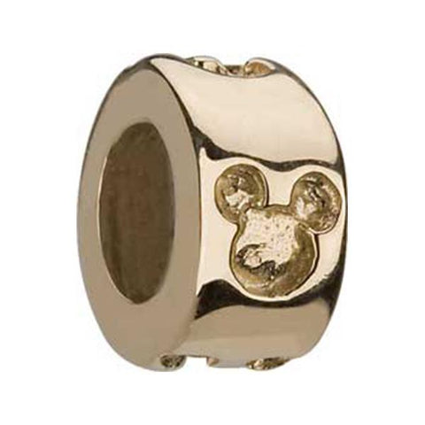 Disney 14K Engraved Mickey Spacer Bead - Chamilia - Centerville C&J Connection, Inc.