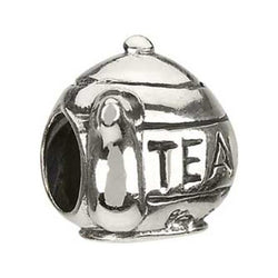 Silver Tea Pot Bead - Chamilia - Centerville C&J Connection, Inc.