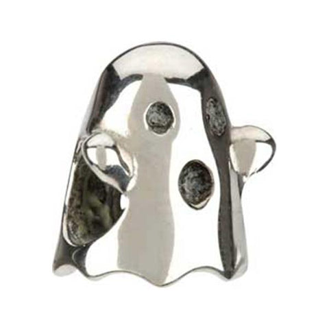 Silver Ghost (Halloween) Bead - Chamilia - Centerville C&J Connection, Inc.