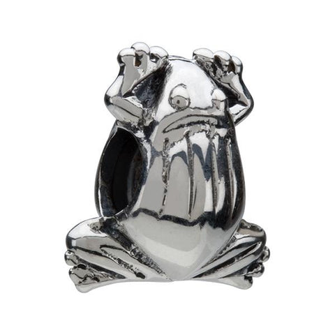 Silver Frog Bead - Centerville C&J Connection, Inc.