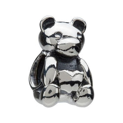 Silver Teddy Bear Bead - Chamilia - Centerville C&J Connection, Inc.