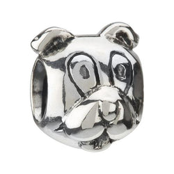 Silver Puppy Dog Bead - Chamilia - Centerville C&J Connection, Inc.