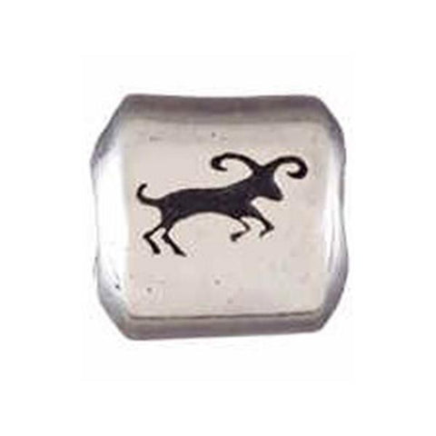 Silver Zodiac Aries Bead - Centerville C&J Connection, Inc.