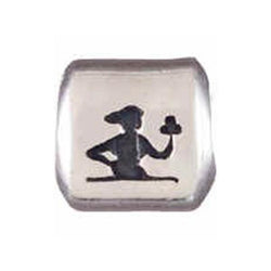 Silver Virgo Zodiac Bead - Centerville C&J Connection, Inc.