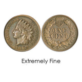 Indian Head Cent 1890-1899