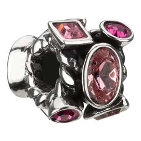Silver Marquis Pink Swarovski Bead - Chamilia - Centerville C&J Connection, Inc.