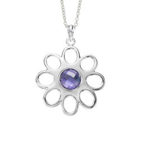 Kameleon Jewelry Silver Pendant 8 Petals Flower - Centerville C&J Connection, Inc.