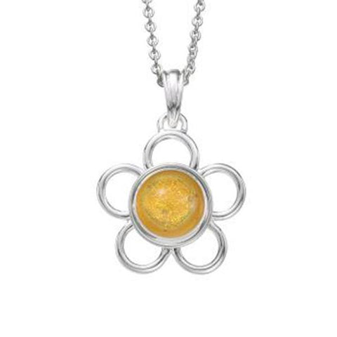 Kameleon Jewelry Round Wire Flower Pendant - Centerville C&J Connection, Inc.