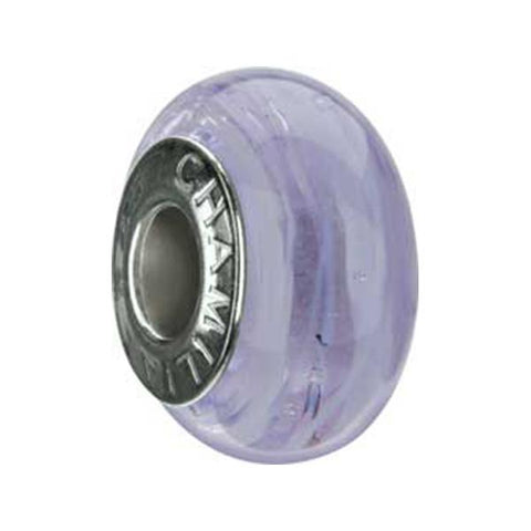 Murano Glass Lilac Spin Bead - Chamilia - Centerville C&J Connection, Inc.