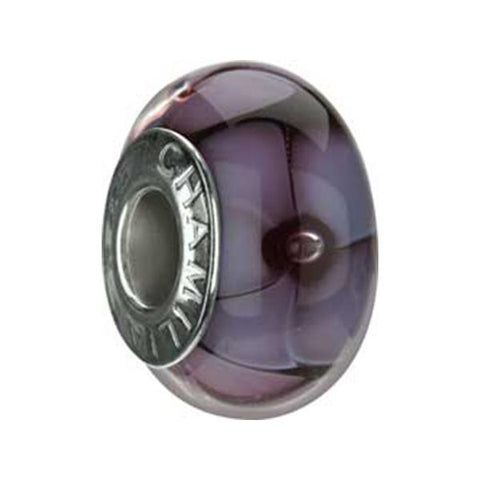 Murano Glass Lavender Petals Bead - Chamilia - Centerville C&J Connection, Inc.