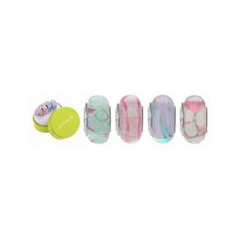 Murano Glass Cotton Candy Bead Set - Chamilia - Centerville C&J Connection, Inc.