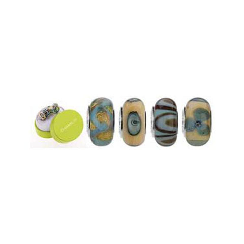 Murano Glass Ocean Sands Bead Set - Chamilia - Centerville C&J Connection, Inc.