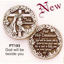 Communion Pewter Pocket Token - Centerville C&J Connection, Inc.