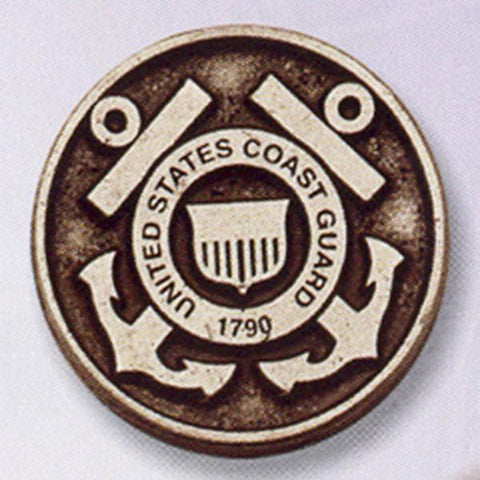 U.S. Coast Guard  Pewter Pocket Token - Centerville C&J Connection, Inc.
