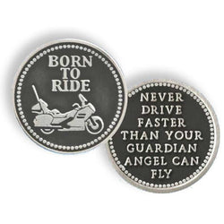 Born To Ride Pocket Token PT616 - Centerville C&J Connection, Inc.