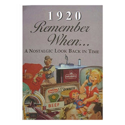 Remember When Booklet - Pi Style Boutique - Seek Publishing - Gifts & Decor - 1