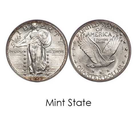 1925 - 1930 Standing Liberty Quarters - Centerville C&J Connection, Inc.