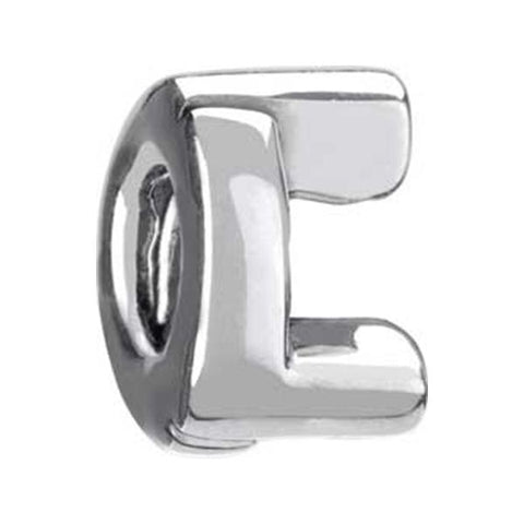 "Silver Bead - Letter ""L"" - Chamilia - Centerville C&J Connection, Inc."