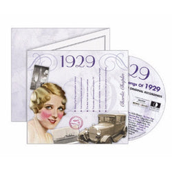 The Classic Years CD Greeting Card