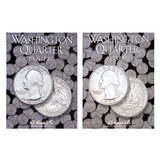 Washington Quarter Starter Collection Kit, Part Two, H.E. Harris [2690] Washington Quarter Folder Vol. 3, [2691] Folder Vol. 4, 1776-1976 P & D Bicentennial Quarters, Magnifier & Checklist - Centerville C&J Connection, Inc.