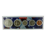 1943 Year Coin Set & Greeting Card : 74th Birthday or 74th Anniversary Gift