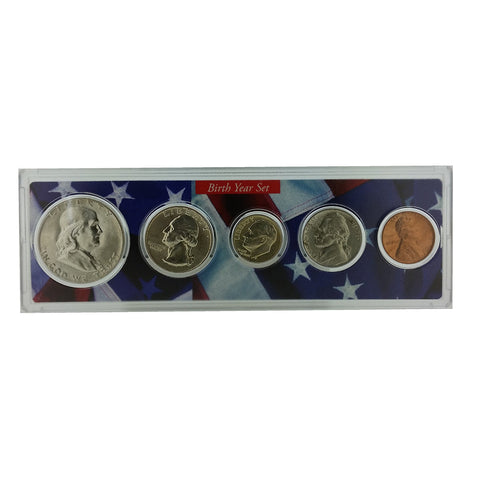 1955 year coin set greeting card 62nd birthday or 62nd 1955 year coin set greeting card 62nd birthday or 62nd anniversary gift centerville m4hsunfo