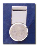 United States Hinge Back Coin Money Clip - Quarter (24mm) - No Coin - Centerville C&J Connection, Inc.