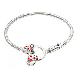 "Minnie Mouse Toggle Bracelet 7.5"" - Chamilia - Centerville C&J Connection, Inc."