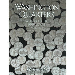 Washington Quarters State Collection 1999 - 2003 Vol. One - Centerville C&J Connection, Inc.