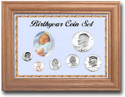 Birthyear Coin  Frames - Centerville C&J Connection, Inc.