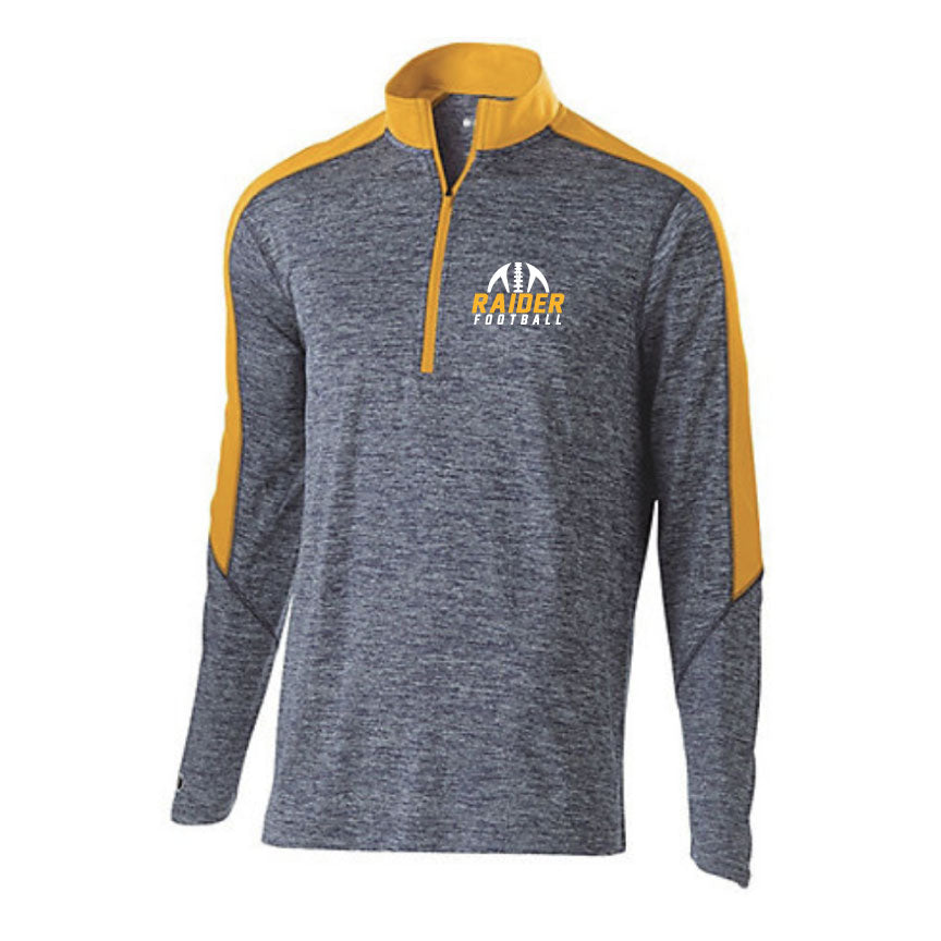 Raider Football 2019 Electrify 1/2 Zip Pullover Youth